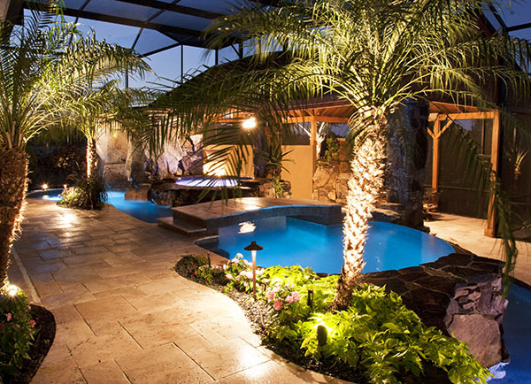 Landscape Lighting and Outdoor Swimming Pool Lights for Sarasota ...